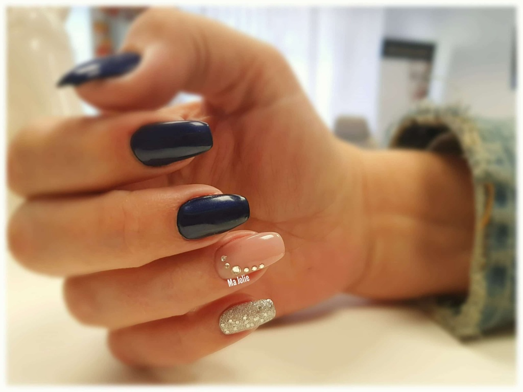 Blaue balerina nagel ma jolie.at
