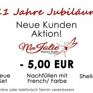 11 Jahre Jubiläum Aktion -5€