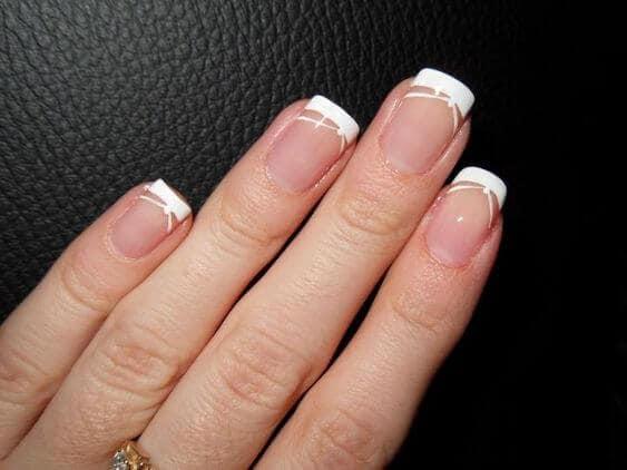 nägel ohne french
